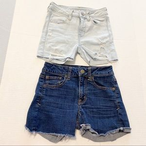 American Eagle outfitters denim shorts bundle 00